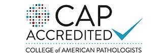 Medical Laboratories by the College of American Pathologist (CAP) Accreditation Logo